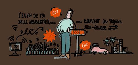 Vignette de l'article de blog - Comment réduire l'impact écologique des formations digitales ?